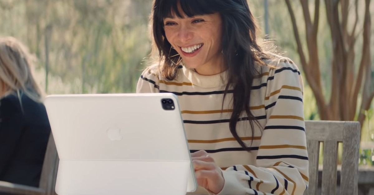 New iPad Pro ad features classic song from The Little Mermaid
