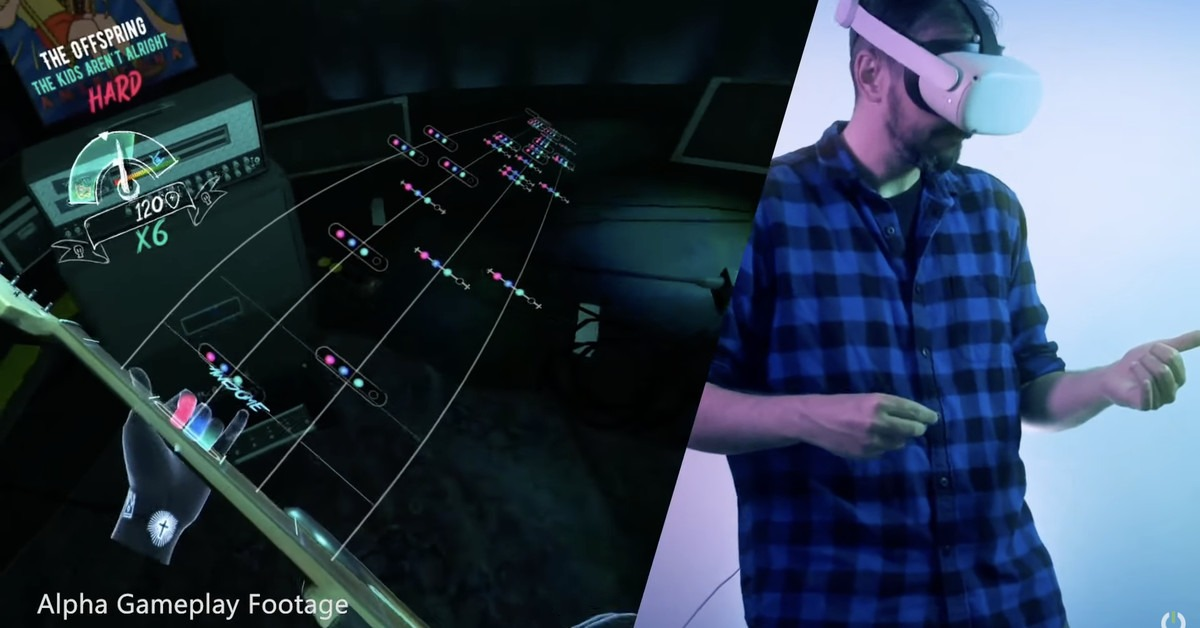Unplugged lets you play air guitar in VR this fall